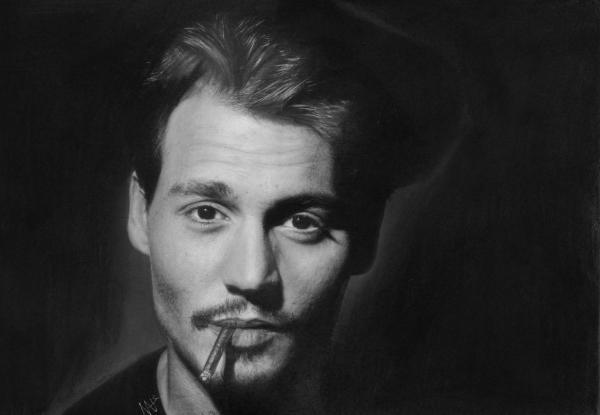 Johnny Depp por Nat-Morley